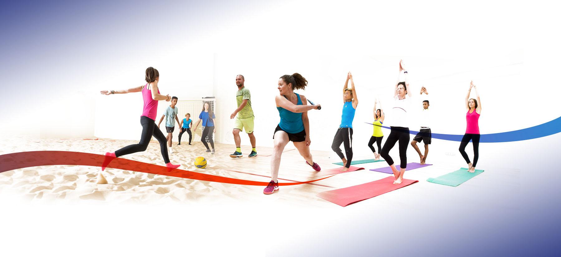 D'Sport & Co votre club de sport Squash - Beach indoor - Cardio - Zen, unique à Nantes