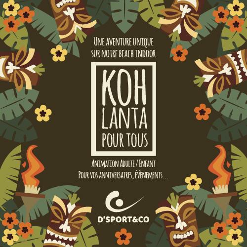Vivez l'aventure Koh Lanta chez D'Sport & Co - votre club unique à Nantes