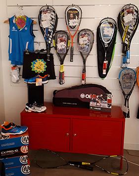 Proshop Squash Oliver chez D'Sport & Co à Nantes