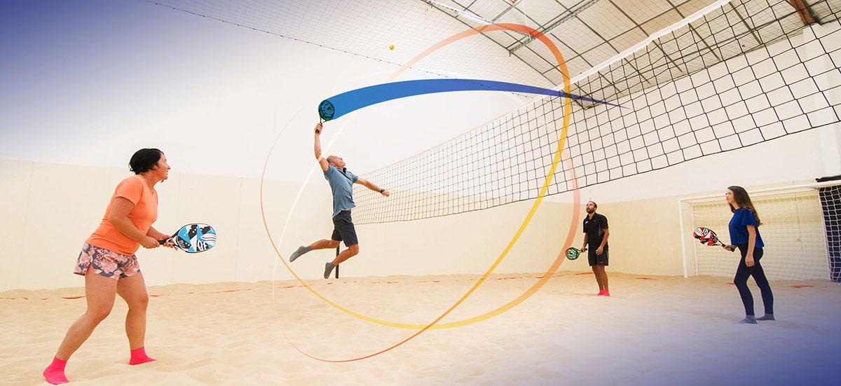 D'Sport & Co, Beach Indoor unique à Nantes, Beach Volley, beach soccer, beach tennis