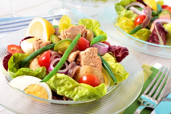 Salade composee Club House D'Sport & Co Nantes