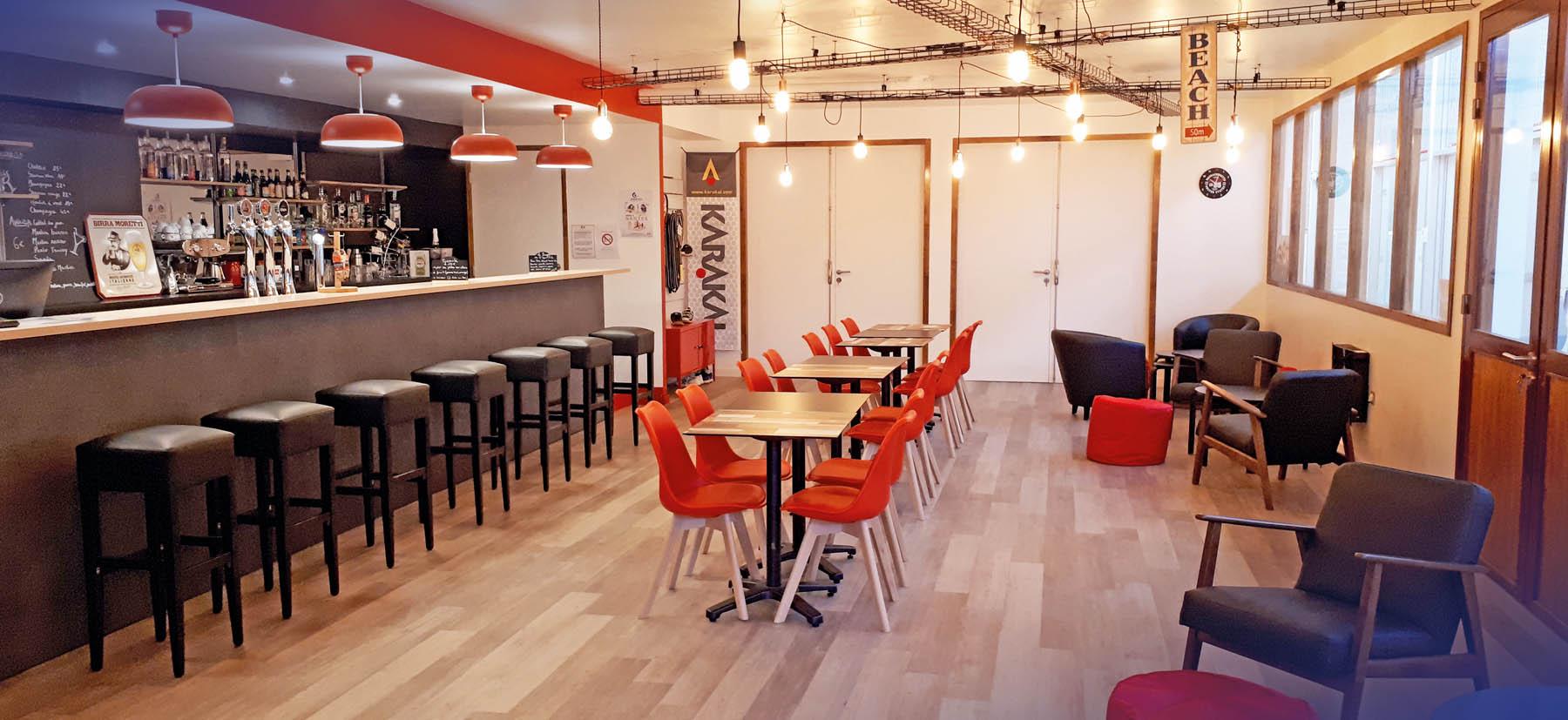 Club House cosy & chaleureux chez D'Sports & Co Nantes
